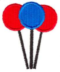 Lollipops embroidery design