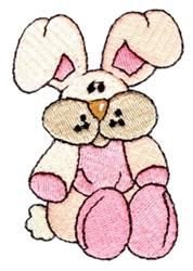 Stuffed Bunny embroidery design