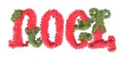 Mini Noel embroidery design