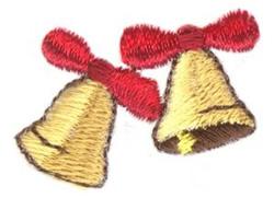 Mini Double Bells embroidery design