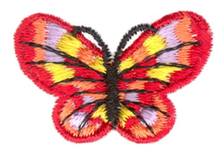 Mini Single Butterfly embroidery design