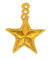 Mini Hanging Star embroidery design