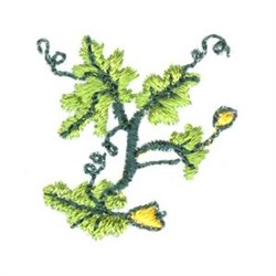 Mini Leaves embroidery design
