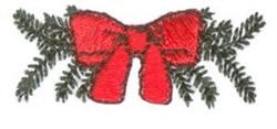 Mini Bow embroidery design