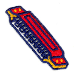 Harmonica embroidery design