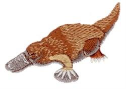 Platypus embroidery design