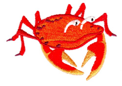 Crabby Kate embroidery design