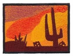 Desert Scene embroidery design