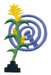 Corn Maze embroidery design