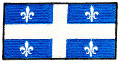Quebec Flag embroidery design