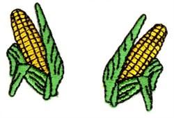 Corn Cobs embroidery design