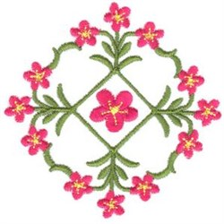 Flowers and Vines embroidery design