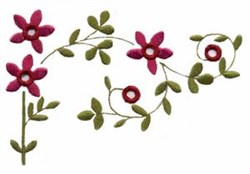 Cutwork Flowers embroidery design