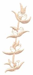 Rosebuds embroidery design