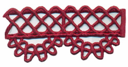 Lace Edging embroidery design