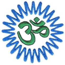 Ohm Symbol embroidery design