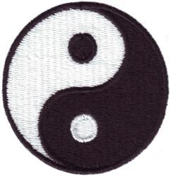 Taoism Symbol embroidery design