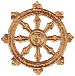 Buddhism Symbol embroidery design