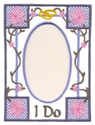 Wedding Frame embroidery design