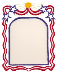 Independence Day Border embroidery design