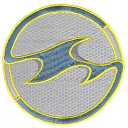 Wave Tattoo embroidery design