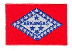 Arkansas State Flag embroidery design
