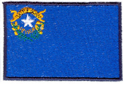 Nevada State Flag embroidery design