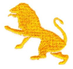 Leo Lion embroidery design