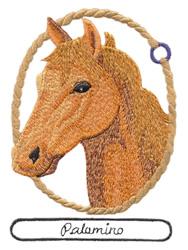 Palamino Horse Embroidery Design