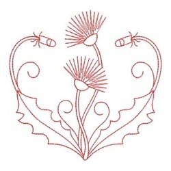 Dandelions embroidery design