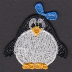 FSL Girl Penguin embroidery design