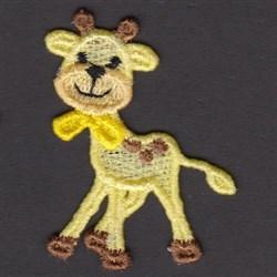 FSL Giraffe embroidery design