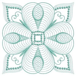 Rippled Block embroidery design