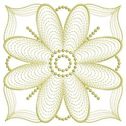 Fancy Rippled Quilts embroidery design