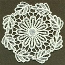 FSL Leafy Doily embroidery design