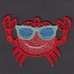 FSL Crab embroidery design