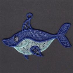 FSL Shark embroidery design