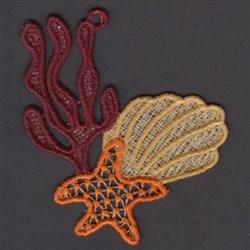 FSL Shells embroidery design