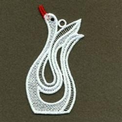 FSL White Swan embroidery design