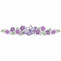 Butterfly Pillowcases embroidery design