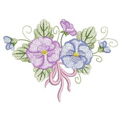 Phalaenopsis Blooms embroidery design