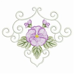 Phalaenopsis Decor embroidery design