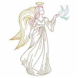 Dove Outline Designs for Embroidery Machines