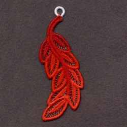 FSL Red Feather embroidery design