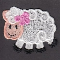 FSL Sheep embroidery design