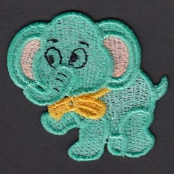FSL Elephant embroidery design