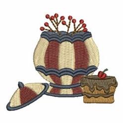 Cake & Cookie Jar embroidery design