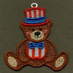 FSL Patriotic Bears embroidery design
