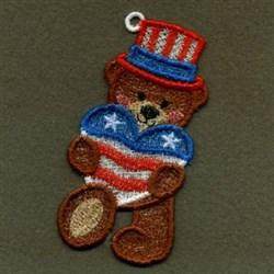 FSL Heart Bear embroidery design