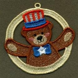 FSL Patriotic Bear embroidery design